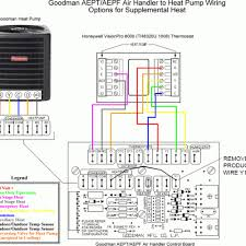wiring diagram goodman air handler a36 10 for ar61 1 heat pump