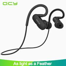 aliexpress qcy 2017 qcy qy31 ear hook sports earbuds running wireless headphones