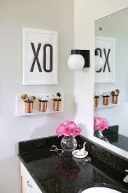 Makeup Vanity Storage Ideas 12 Storage Hacks For Beauty Buffs With Small Vanities Cup