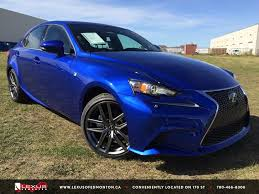 lexus isf blue new ultra sonic blue 2015 lexus is 250 awd f sport series 3 in