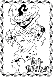 Free Printable Halloween Activity Sheets Scary Pumpkin Free Printable Halloween Coloring Pages Archives