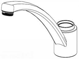 Single Lever Kitchen Faucet Repair Kitchen Moen Single Handle Kitchen Faucet With Regard To Leading