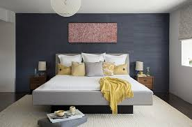 Grey Wall Bedroom Cheerful Sophistication 25 Elegant Gray And Yellow Bedrooms