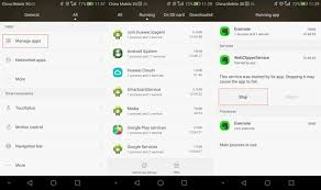 apps running in background android how to startup apps on huawei android