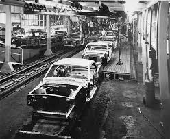 ford mustang assembly plant tour 210 best throwback mustang images on ford mustangs