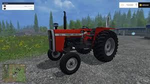 first lamborghini tractor massey ferguson 265 2wd v1 tractor farming simulator 2015 15 mod