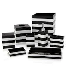 Gray And White Bathroom Accessories by Kassatex Cabana Bath Accessories Bloomingdale U0027s