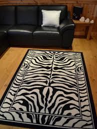 Cheap X Large Rugs Trend Zebra Print Rug 8 Sizes Available 60cm X 110cm Amazon Co