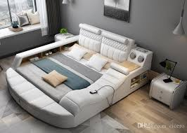 2018 smart bed with multifunction bluetooth massage tatami big