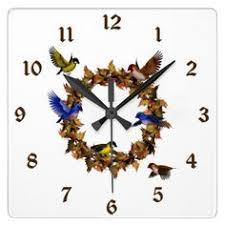 cornucopia horn of plenty wall clock thanksgiving all about