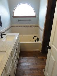 bathroom remodel project before and after