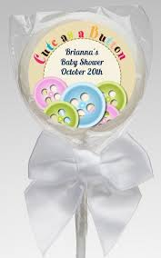 as a button baby shower decorations as a button baby shower lollipop favors as a button