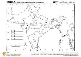 India Political Map Kids Science Projects India Political Map Free Download