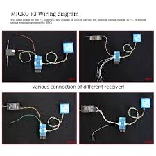high quality micro f3 6dof bent pin flight controller for rc