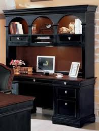Black Computer Desk With Hutch Pin By Tomi On Home Ideas Pinterest Desk Hutch Computer Desks