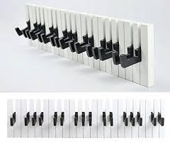 design kleiderhaken gmmh design klavier wandgarderobe kleiderhaken hakenleiste 16