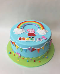 peppa pig cake ideas themed cakes