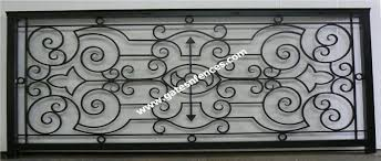 interior balcony railings wrought iron balcony railings indoor rails