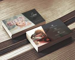 card photography visiting card template