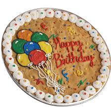 birthday cookie cake cookie cake delivery cookies by design