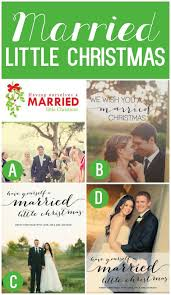married christmas cards newlywed christmas card km creative