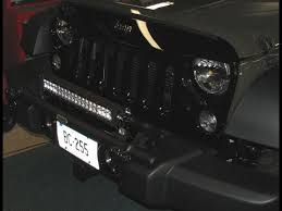 best jeep light bar the best lightbar for a jeep jk period youtube