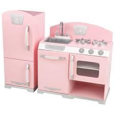 cuisine kidkraft cuisine et réfrigérateur rétro de kidkraft cuisines
