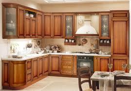Kitchen Wooden Cabinets Stunning Kitchen On Kitchen Wood Cabinet Barrowdems