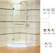 Bathroom Shower Door Seals 10mm 005 135 Degree Shower Door Seal Shower