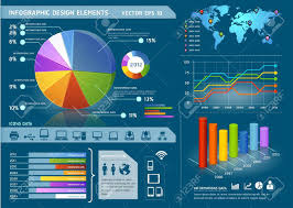 2007 World Map by Colorful Infographic Elements With World Map And Information