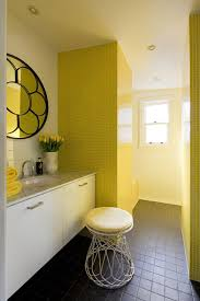retro yellow bathroom tile ideas and pictures