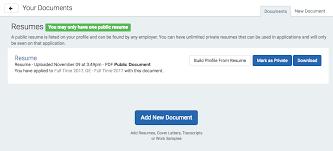 resume uploader how do i add upload a new document u2013 handshake help center