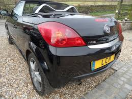 opel convertible vauxhall tigra 1 4 exclusive 16v convertible heated black leather