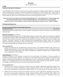 Best Font For Executive Resume by Free Manager Resume Templates 40 Free Word Pdf Documents