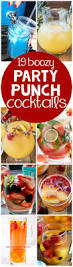 punch recipes for thanksgiving 19 party punch cocktail recipes crazy for crust