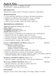 cv for project manager sample construction and project management specialist resume example