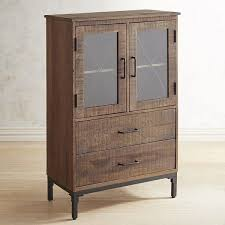 metal and wood storage cabinets pier 1 imports wyatt wood and metal cabinet 600 liked on