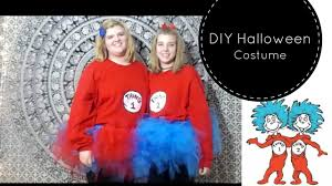 thing 1 u0026 thing 2 halloween costumes diy thing 1 and 2 halloween costumes youtube
