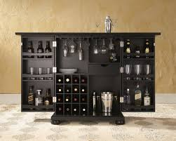 crosley alexandria expandable bar cabinet by oj commerce alexandria expandable bar cabinet