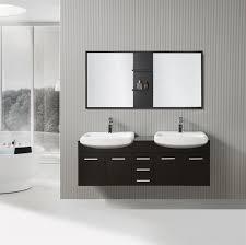 Bathroom Vanities 59 Inches Bella 59 Inch Double Sink Floating Vanity Set