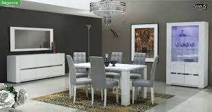 elegance dining room set in white free shipping get furniture
