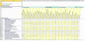 Document Template Excel Raci Matrix Templates Word Exceltemple