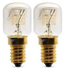 whirlpool microwave cooktop light bulb 2 x whirlpool philips microwave oven 25w 240v ses e14 300ºc l