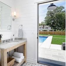 pool house bathroom ideas pool house bathroom with towel cubbies cottage bathroom