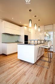 licht küche traumhaftes beispiel wie mit licht der fokus auf die integrierte