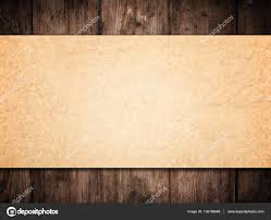 old paper background on wood wall brown papers texture wooden