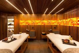 wellness design hotel commercial himalayan salt wall panel sun valley salt