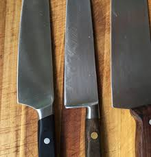 secondary edge on western style knives u2013 angle