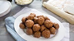 cuisine tv recettes italiennes boulettes italiennes à l érable cuisine futée parents pressés