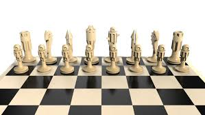 Designer Chess Sets by Chess Set Knight 3d Printable Model Cgtrader